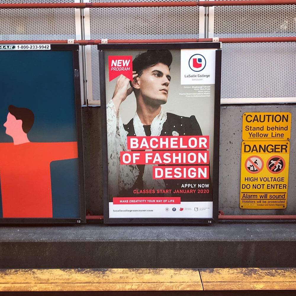 طراح شقایق تفرشی در متروهای ونکور