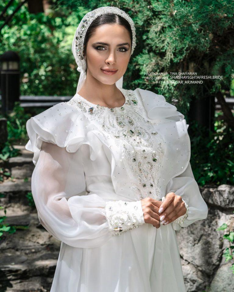 لباس عروس کد 1023