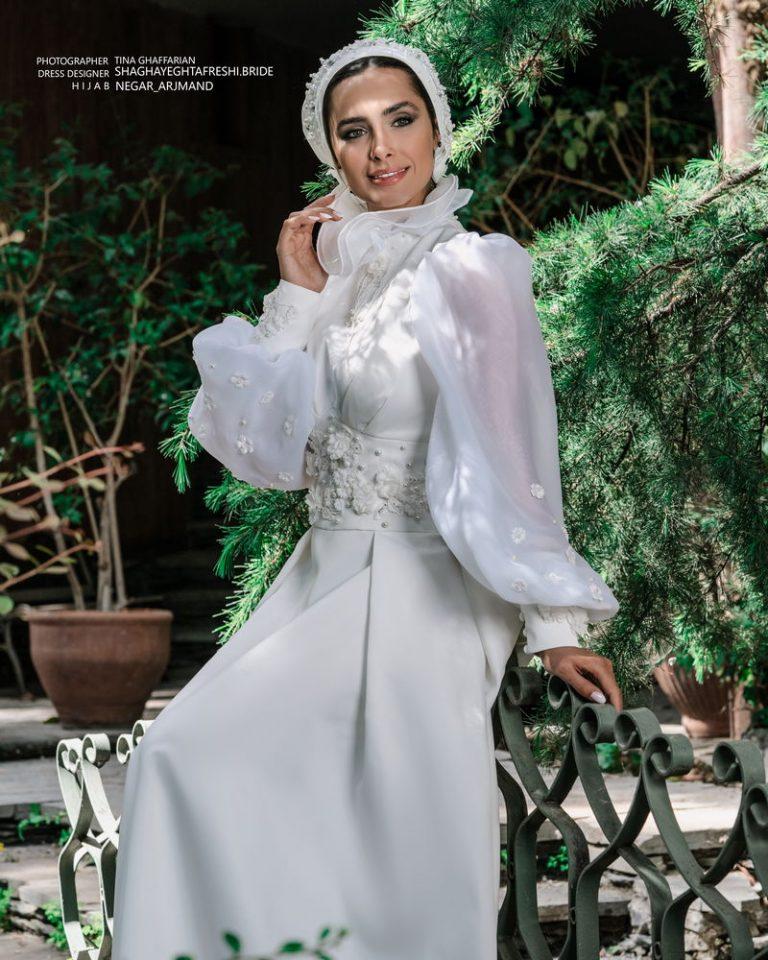 لباس عروس کد 1025